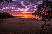 Tamarindo Beach Sunset Costa Rica