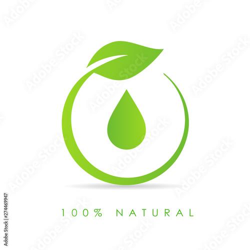 Stampa su Tela Natural oil drop icon