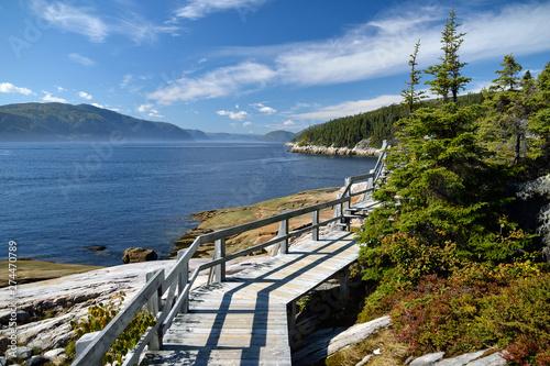 Fototapeta premium Zatoka Tadoussac, Quebec (Kanada)