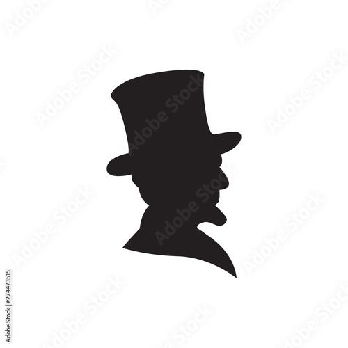 Fotografia  president vector icon