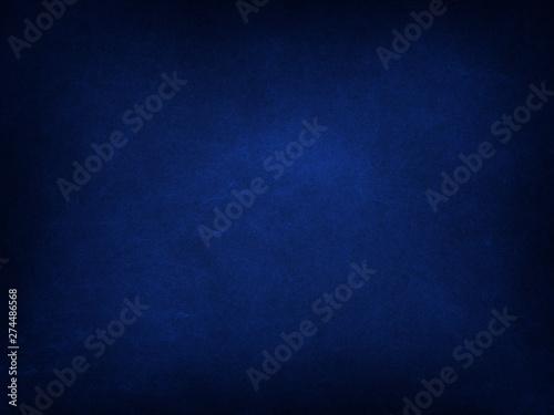 Fototapeta Texture of old navy blue paper closeup obraz na płótnie
