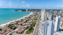Natal / Rio Grande Do Norte / Brazil - Circa May 2019: Beautiful Aerial Image Of The City Of Natal, Rio Grande Do Norte, Brazil.