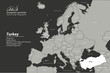 europe map. Description Map of European Countries with vector