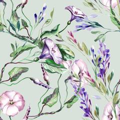 FototapetaField Flowers Seamless Pattern