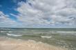 Coastline, beach, north sea, denmark, jutland