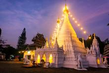Phra That Doi Kong Mu, Mae Hong Son,Thailand.