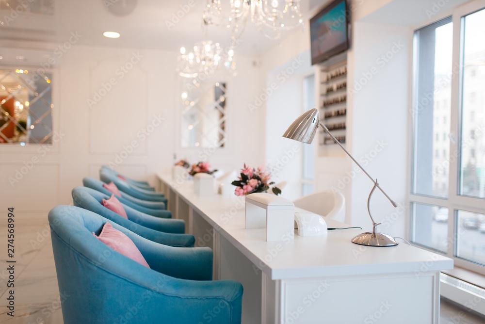 Fototapety, obrazy: Beauty shop interior, beautician salon, nobody