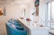Beauty shop interior, beautician salon, nobody