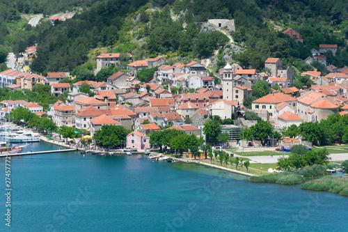 Foto op Plexiglas Europa Skradin, Dalmatien, Kroatien