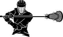 Lacrosse Pose Front View