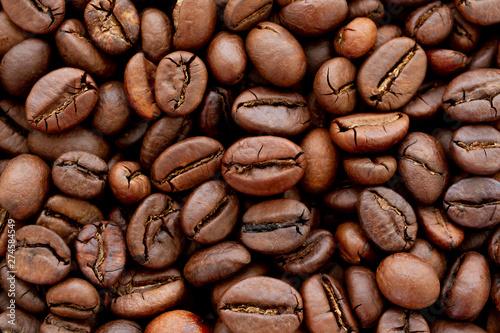Fototapeta コーヒー豆 背景素材