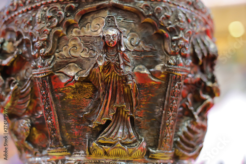 Tuinposter accessories thailand ancient old