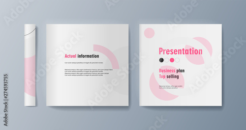Fototapety, obrazy: Set of brochures for marketing the promotion goods and services on market