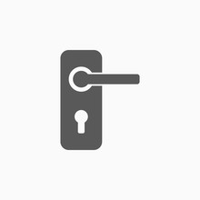 Door Handle Icon
