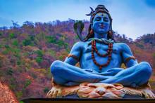 Idol Of Indian God Shiva, At T...