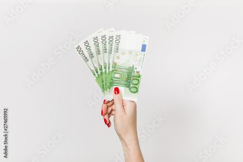 Fotografía Euro Money. euro cash background. Euro Money Banknotes