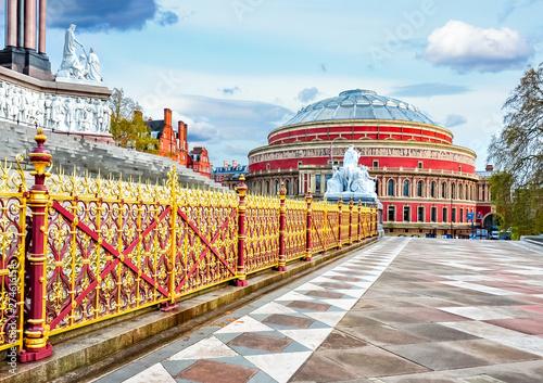 Photo Royal Albert Hall building in London, UK