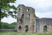 Old Wall Of Barnard Castle