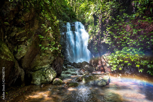 Printed kitchen splashbacks Forest river Waterfall Australia Wild Adventure