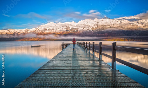The Wharf of Glenorchy, Queenstown, New Zealand