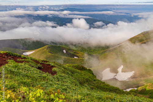 Foto auf Gartenposter Gebirge Towada Hachimantai National Park in early summer