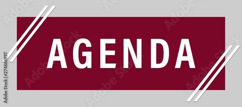 Photo agenda web Sticker Button