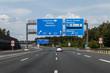 Autobahnkreuz Nürnberg-Ost, A6 - A9