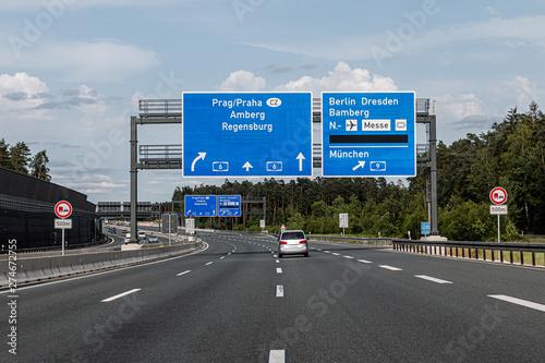 Photo Autobahnkreuz Nürnberg-Ost, A6 - A9