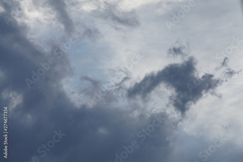 Türaufkleber Darknightsky Wetter Wolken Himmel