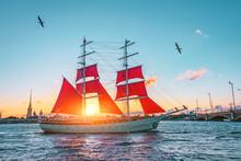 Scarlet Sails In St. Petersbur...