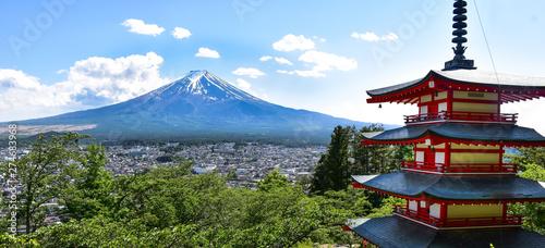 Mount Fuji, Chureito Pagoda