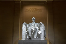 Abraham Lincoln Memorial In Wa...