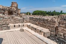 Public Toilets In Ephesus Anci...