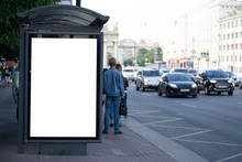Advertising Mockup For Ad Plac...