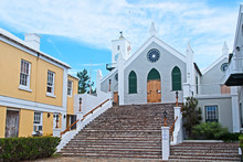 Their Majesties Chappell, St. Peter's Church, In St. George's, Bermuda, Is The Oldest Surviving Anglican Church In Continuous Use Outside The British Isles.