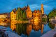 canvas print picture - Brügge, Belgien