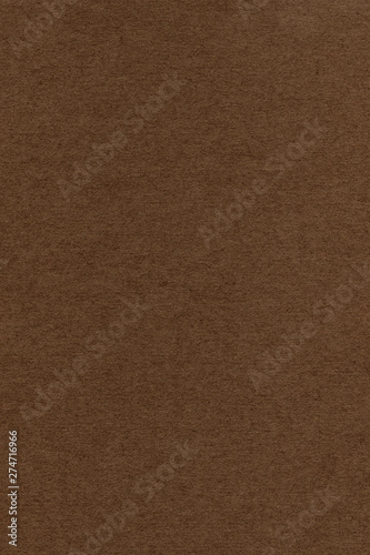 Photograph of artist's coarse grain dark brown striped pastel paper texture sample