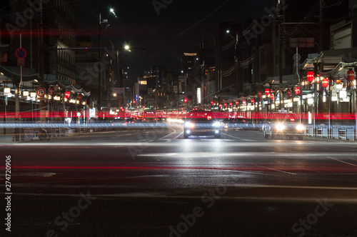 Fotografie, Tablou  Gion district in Kyoto