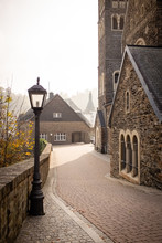 Saint Hubert Church In Clerveux. Luxembourg