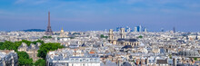 Paris, Typical Roofs, Aerial V...