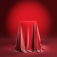 Presentation Pedestal With Red...