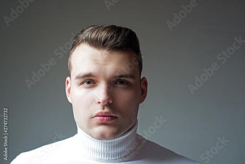 Fényképezés  Well groomed man stylish appearance