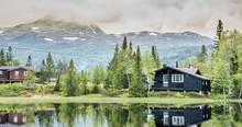 Gaustatoppen, Rjukan, Góry Sk...