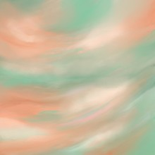 Digital Illustration Of Sky And Clouds At Dawm