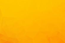 Orange Low Poly Crystal Backgr...