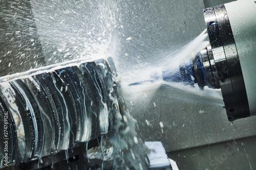 Fotomural  CNC milling machine work