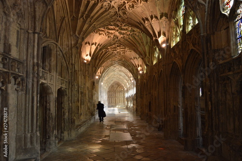 Fototapeta  Elaborate Fan Vaulting in Gloucester Cathedral, England