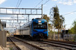SANTIAGO, CHILE - OCTOBER 2015: An UTS-444 Terrasur train