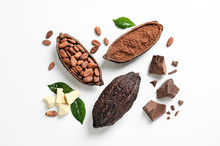Composition With Cocoa Product...