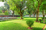 Scenic traditional Vietnamese garden at the Temple of Literature - 274813335